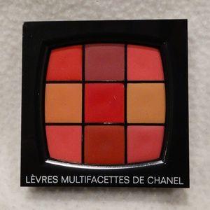 Authentic CHANEL Multifacettes Lip Palette